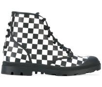 Stiefel mit Schachbrettmuster - men