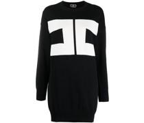 Intarsien-Pulloverkleid