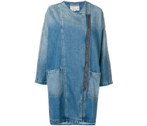 Lange Jeansjacke
