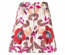 Shorts mit Blumen-Print