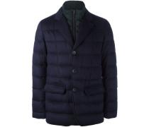 doubled padded blazer