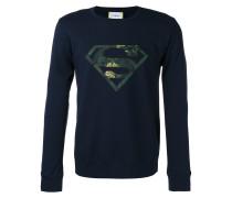 'Superman' Sweatshirt mit Logodetail