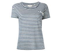 - Gestreiftes T-Shirt - women - Leinen/Flachs - M