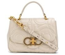 Gesteppte Handtasche mit Gancini-Detail