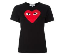 T-Shirt mit Herz-Print - women - Baumwolle - M