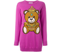 Intarsien-Pullover mit Bärenmotiv - women