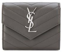 Portemonnaie mit Monogram-Logo