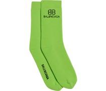 Socken mit Logo-Stickerei