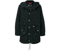 Division hooded coat