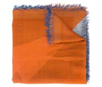 Schal in Colour-Block-Optik - men - Seide/Wolle