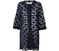Oversized-Jacke mit floraler Spitze - Unavailable
