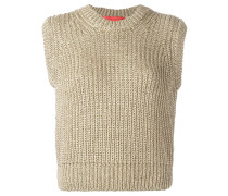 Intarsien-Pullover mit Anker-Motiv - women