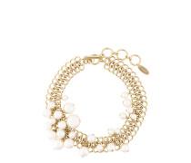 Halskette mit Glasperlen