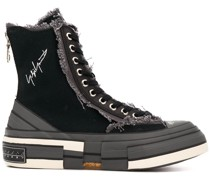 High-Top-Sneakers mit Plateau