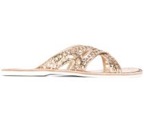 - Sandalen mit überkreuztem Riemen - women