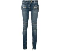 Skinny-Jeans in Bikeroptik