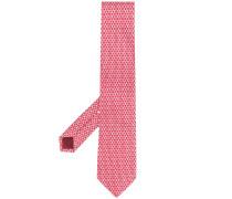 Krawatte mit Schach-Print