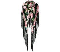 rose print shawl