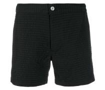 Ausgestellte Patchwork-Shorts