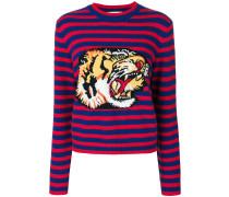 Pullover mit Tigermotiv