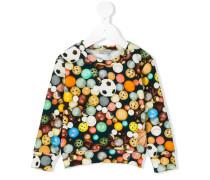 Sweatshirt mit Print - kids - Baumwolle - 36 M.