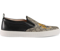 GG Supreme Slip-On-Sneakers mit Tiger