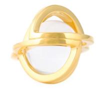 'Planetaria' Ring aus 18kt vergoldetem