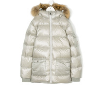 midi padded coat