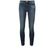 Halbhohe Super-Skinny-Jeans - women