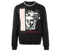 - Sweatshirt mit Medusa-Print - men - Baumwolle
