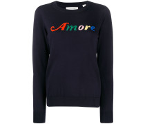 'Amore' Intarsien-Pullover