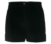 P.A.R.O.S.H. Kord-Shorts mit Knopfverschluss