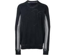 '11' Sweatshirt mit Print