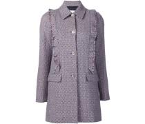 Tweed-Jacke aus Wolle