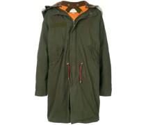 oversized retro parka coat