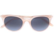 'Dillon' Sonnenbrille - women - Acetat/18kt