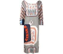 'Stuck in a Box' Kleid mit Print