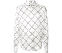 Langarmshirt mit geometrischem Print