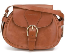 maxi buckle shoulder bag