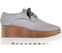 'Britt' Plateau-Schuhe im Metallic-Look - women