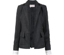 peaked lapels jacket