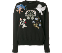 embroidered patch jumper