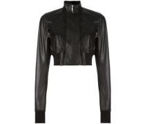 Glitter Egon leather jacket