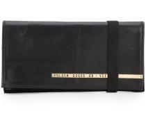 elastic strap wallet