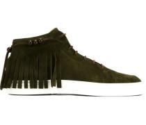 High-Top-Sneakers mit Fransen