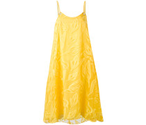 Kleid mit Blattmuster - women - Seide/Baumwolle