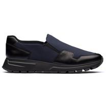 Slip-On-Sneakers mit Einsatz