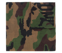 camouflage logo scarf