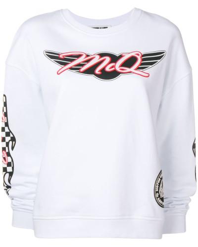 Sweatshirt im Racer-Look