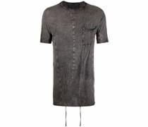 Ausgeblichenes T-Shirt mit Drapierung